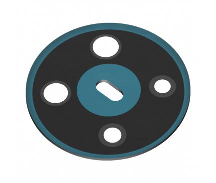 Geam Camera Spate Nokia 5.3, Albastru