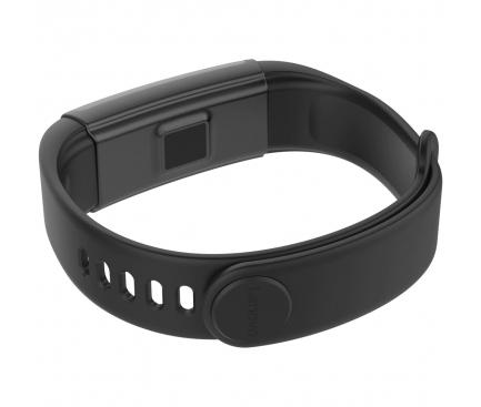 Bratara Activity Tracker Lenovo Cardio Plus, Fitness, Neagra HX03W
