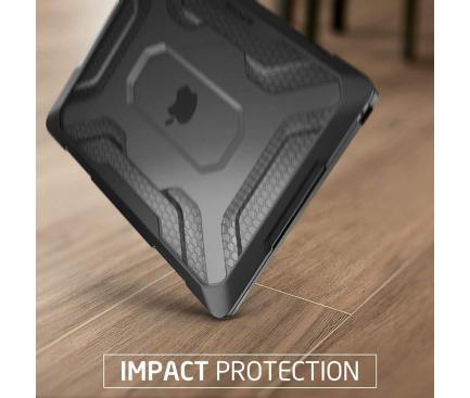Carcasa Protectie Laptop Supcase UNICORN BEETLE pentru Apple MacBook Air 13, Neagra