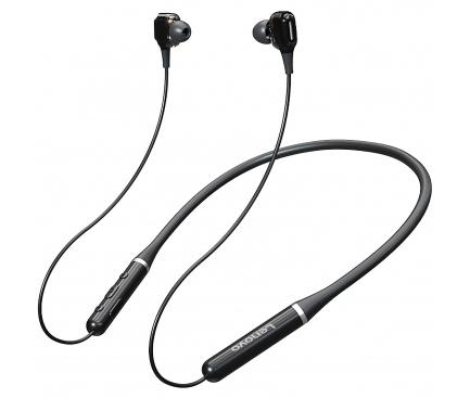 Handsfree Casti Bluetooth Lenovo XE66, Sport, SinglePoint, Negru
