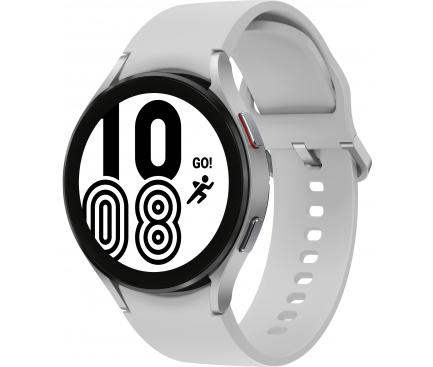 Ceas Smartwatch Samsung Galaxy Watch4, 44mm, BT, Argintiu SM-R870NZSAEUE