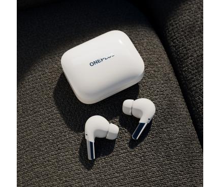 Handsfree Casti Bluetooth OnePlus Buds Pro, Alb 5481100072