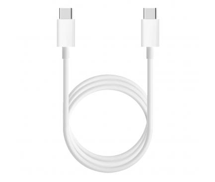 Cablu Date si Incarcare USB Type-C la USB Type-C Xiaomi, 1.5 m, Alb SJV4108GL