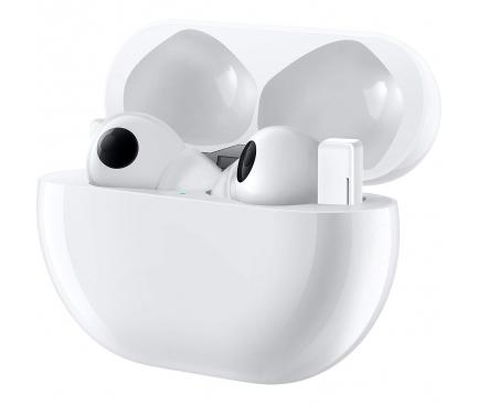 Handsfree Casti Bluetooth Huawei FreeBuds Pro, Alb (Ceramic White) 55033755