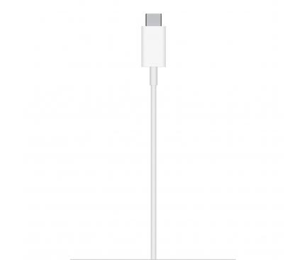 Incarcator Retea Wireless OEM, MagSafe, Quick Charge, 15W, USB-C, Alb