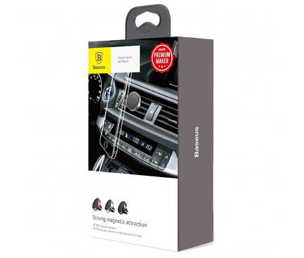 Suport Auto Magnetic Baseus, Air Ventilation, Negru SUGENT-MO01