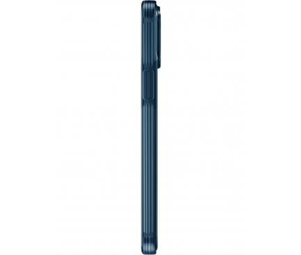 Husa TPU UNIQ Hybrid Air Fender pentru Apple iPhone 12 / Apple iPhone 12 Pro, Antibacterian, Bleumarin