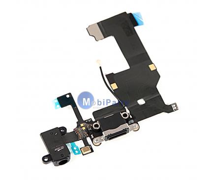 Banda cu conector incarcare / date audio si microfon Apple iPhone 5