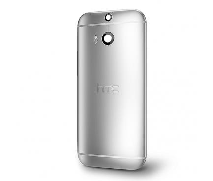 Capac baterie HTC One (M8) argintiu