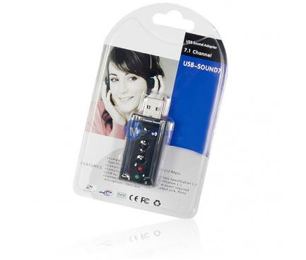 Placa de sunet USB Virtual 7.1