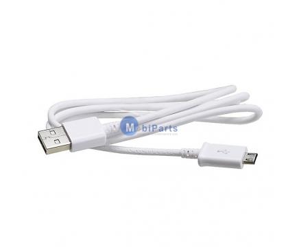 Cablu date MicroUSB Samsung ECB-DU4AWE alb Original