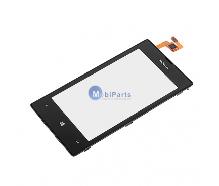 Carcasa fata cu touchscreen Nokia Lumia 520