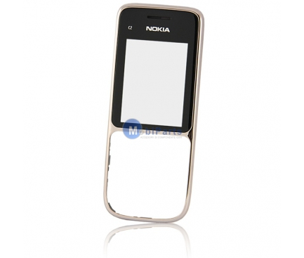 Carcasa fata Nokia C2-01 aurie