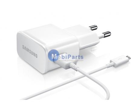 Incarcator retea MicroUSB Samsung ETA-U90EWE + ECB-DU4AW alb Original