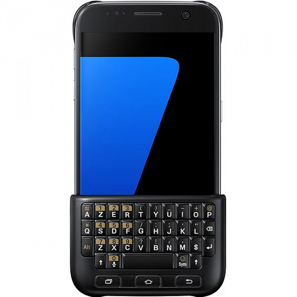554e98f03eb Husa plastic Samsung Galaxy S7 G930 Keyboard Cover EJ-CG930UBEGDE Blister  Originala