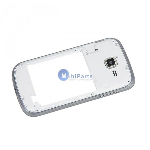 f6d15cd38c4 Carcasa mijloc Samsung Galaxy Trend Lite S7390 alba | GSMnet.ro