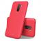 Husa TPU Lenuo Leshen Stripe pentru Xiaomi Pocophone F1, Rosie, Blister