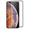 Folie Protectie Ecran Vonuo pentru Apple iPhone XS Max, Sticla securizata, Full Face, Full Glue, Neagra, Blister VO-090501023