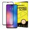 Folie Protectie Ecran WZK pentru Samsung Galaxy A30 A305 / Samsung Galaxy A50 A505, Sticla securizata, Full Face, Full Glue,  Neagra, Blister