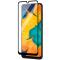 Folie Protectie Ecran Blueline pentru Samsung Galaxy A50 A505, Sticla securizata, Full Face, Full Glue, Neagra, Blister