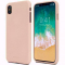 Husa TPU Goospery Mercury Soft Feeling pentru Samsung Galaxy A7 (2018) A750, Crem, Blister