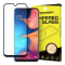 Folie Protectie Ecran WZK pentru Samsung Galaxy A20e, Sticla securizata, Full Face, Full Glue, Neagra, Blister