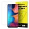 Folie Protectie Ecran WZK pentru Samsung Galaxy A20e, Sticla securizata, Blister
