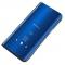 Husa Plastic OEM Clear View pentru Huawei P Smart Z, Albastra, Blister