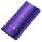 Husa Plastic OEM Clear View pentru Samsung Galaxy A20e, Mov, Blister