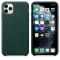 Husa Piele Apple iPhone 11 Pro Max, Verde, Blister MX0C2ZM/A