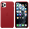 Husa Piele Apple iPhone 11 Pro Max, Rosie, Blister MX0F2ZM/A