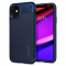 Husa TPU Spigen Hybrid NX pentru Apple iPhone 11, Bleumarin, Blister 076CS27075