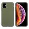 Husa Biodegradabila Muvit pentru Apple iPhone 11, Bambootek ECO, Verde(Moss), Blister MCBKC0003