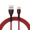 Cablu Date si Incarcare USB la USB Type-C Golf GC-74t, 3A, 1 m, Rosu, Blister