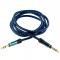 Cablu Audio 3.5 mm la 3.5 mm Tellur Basic, 1 m, Albastru, Blister TLL311041