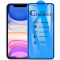 Folie Protectie Ecran OEM pentru Apple iPhone 11 / Apple iPhone XR, Plastic, Full Cover, Full Glue, 2.5D, Blister
