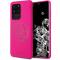 Husa TPU Guess pentru Samsung Galaxy S20 Ultra G988 / Samsung Galaxy S20 Ultra 5G G988, 4G Tone Logo, Ciclam, Blister GUHCS69LS4GFU