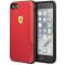 Husa TPU Ferrari On Track pentru Apple iPhone 7 / Apple iPhone 8 / Apple iPhone SE (2020), Rosie, Blister FESITHCI8RE