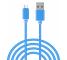 Cablu de date Samsung Galaxy Ace 4 G313F Woven 2m albastru