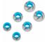 Set dopuri Silicon pentru handsfree KZ 6 Albastre