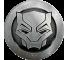Suport Stand Adeziv Popsockets pentru telefon Black Panther Monochrome Blister
