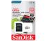 Card Memorie MicroSDXC SanDisk Ultra, 64Gb, Clasa 10 - UHS-1 U1, Blister SDSQUNS-064G-GN3MA