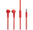 Handsfree Casti EarBuds Soultech Comfort Strong Flat, KK007K, Cu microfon, 3.5 mm, Rosu, Blister