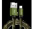 Cablu Date si Incarcare USB la Lightning Soultech Army metal DK029, 1 m, Multicolor, Blister