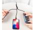 Cablu Date si Incarcare 2 x USB la Lightning - USB la MicroUSB Benks, 1.5 m, Negru, Blister