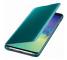 Husa Plastic Samsung Galaxy S10 G973, Clear View, Verde, Blister EF-ZG973CGEGWW