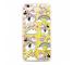 Husa TPU Disney Minnie 037 Liquid Glitter pentru Apple iPhone 7 / Apple iPhone 8, Aurie, Blister
