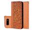 Husa Piele OEM Crocodile Glitter pentru Samsung Galaxy S10 G973, Portocalie, Bulk