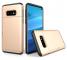 Husa Plastic OEM Rugged Armor pentru Samsung Galaxy S10e G970, Cu slot pentru card de credit, Aurie