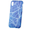 Husa TPU OEM Glossy Marble pentru Apple iPhone XR, Albastra, Bulk